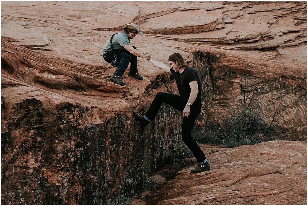 Snow Canyon State Park elopement