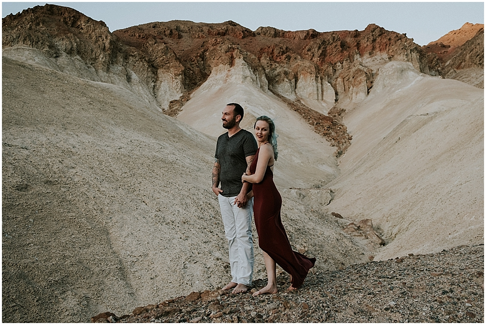 Death Valley National Park engagement