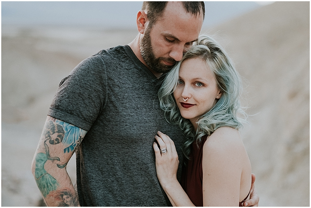 Elopement photographer Death Valley