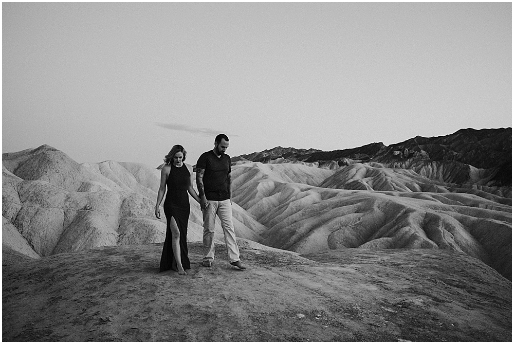 Wedding at Zabriskie Point