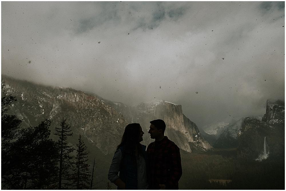 Taft Point Yosemite wedding