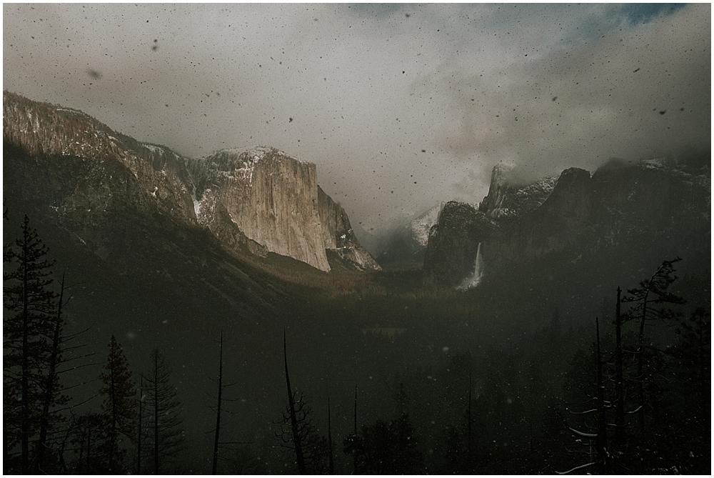Yosemite National Park wedding ceremony location