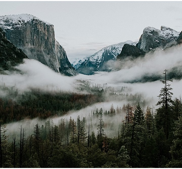 Scenic Locations Within Yosemite