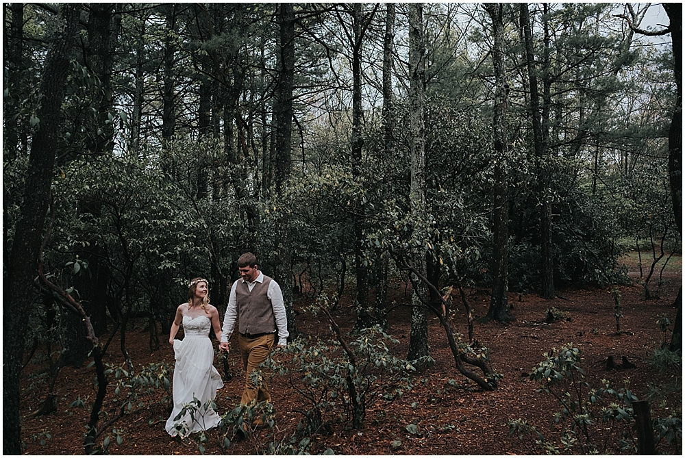 Boone north carolina elopement