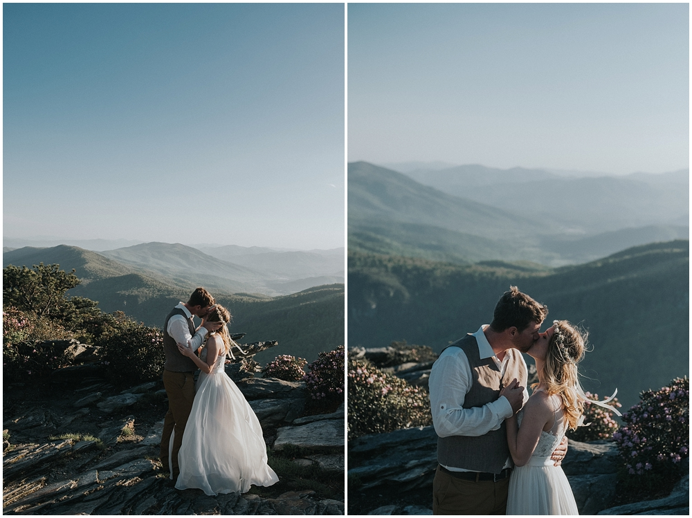 Hawksbill mountain wedding