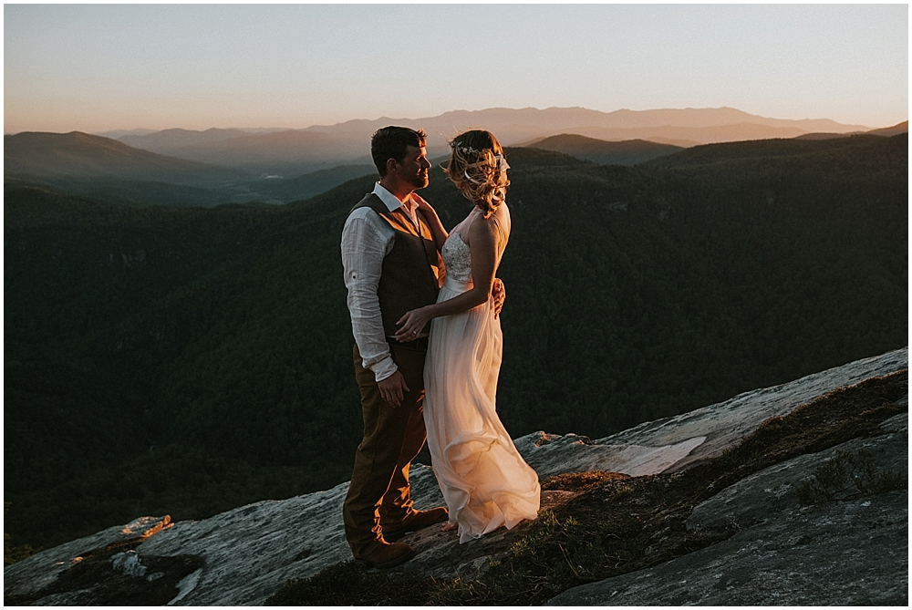 mountain elopement asheville nc