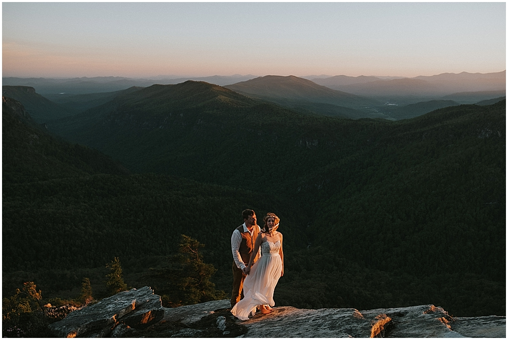 appalachian mountain elopement
