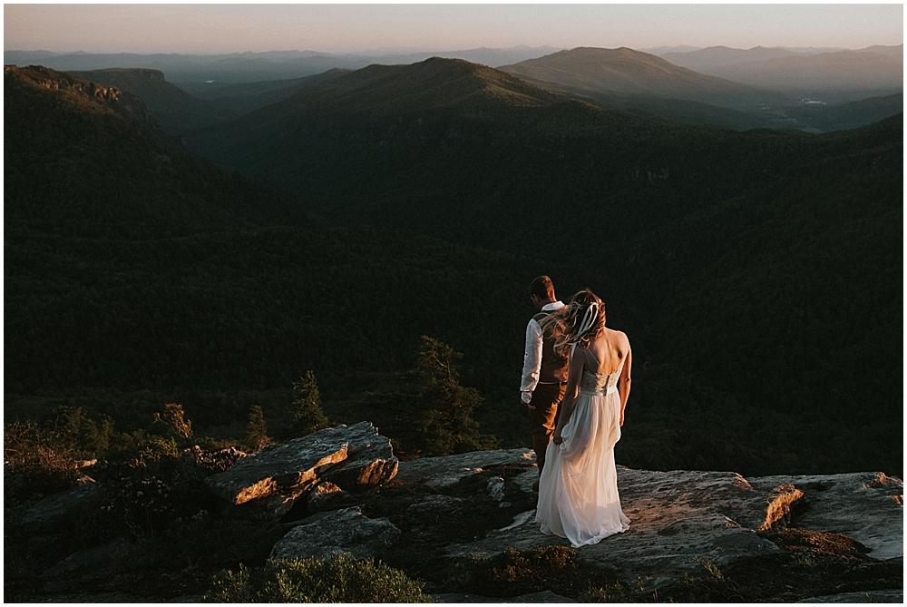 Asheville NC elopement