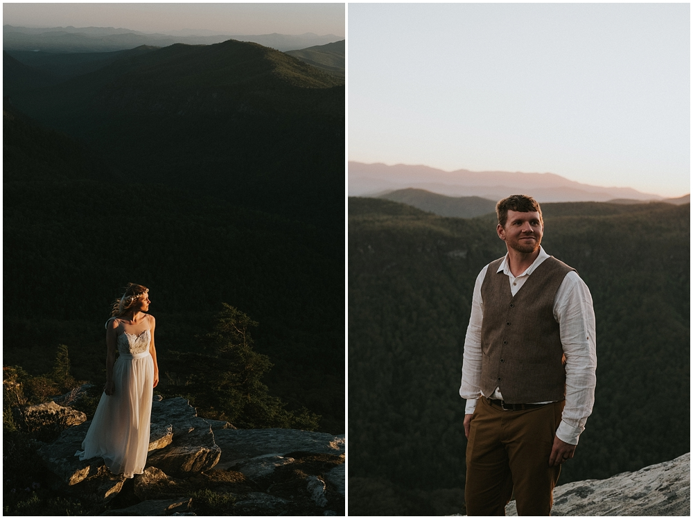 mount mitchell elopement