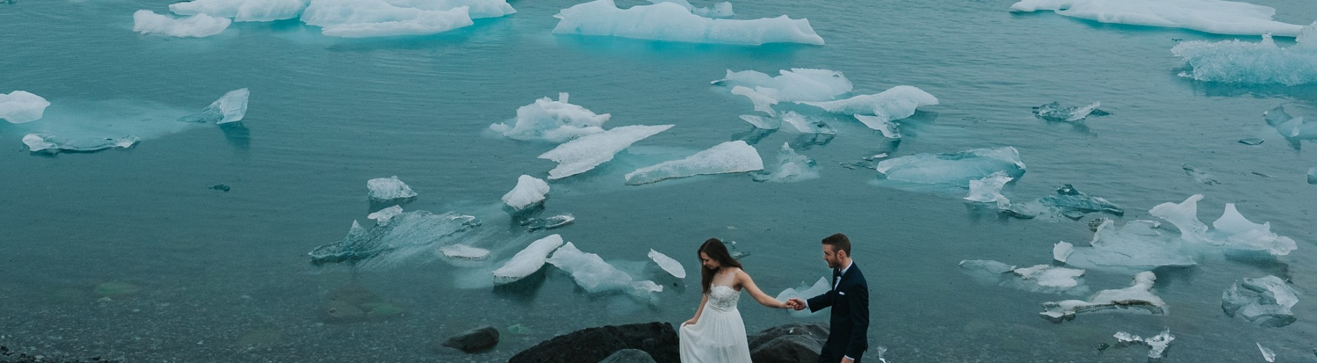 Diana + Michael | Day After Session in Jökulsárlón and Svartifoss