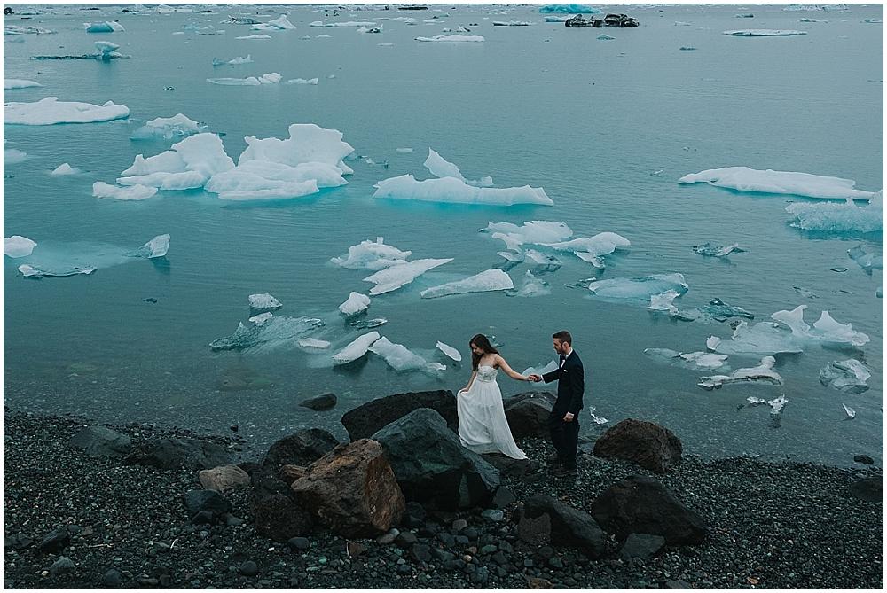 Iceland Elopement Jökulsárlón