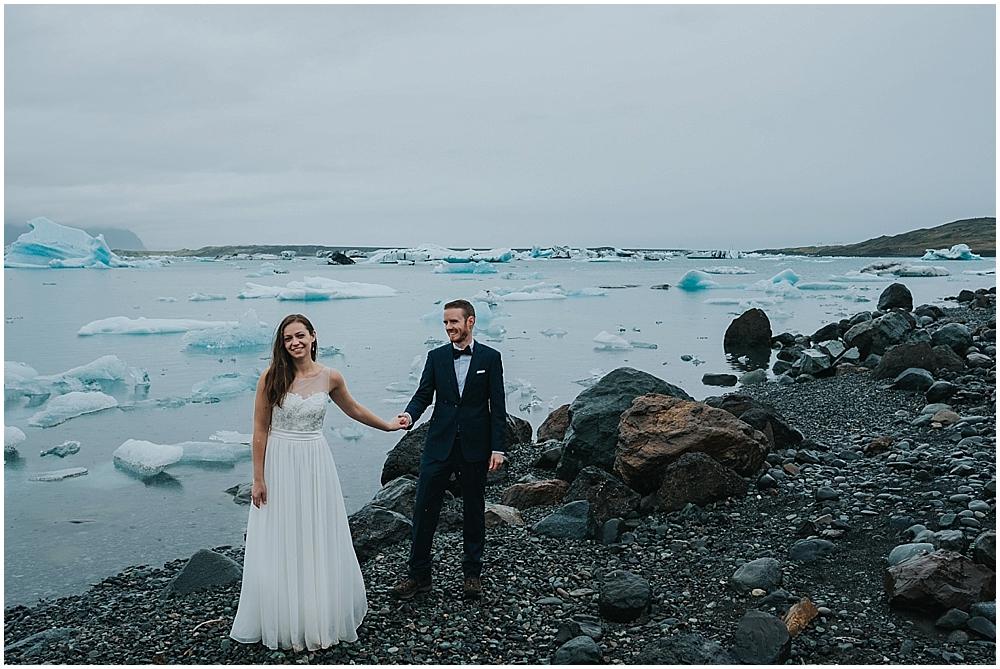 Jökulsárlón wedding photographer