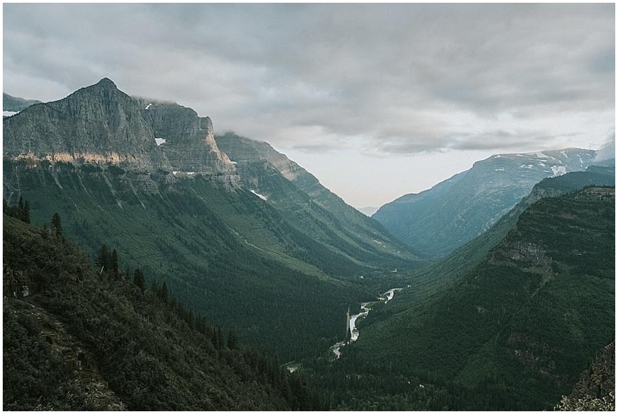 Wedding in Glacier National Park