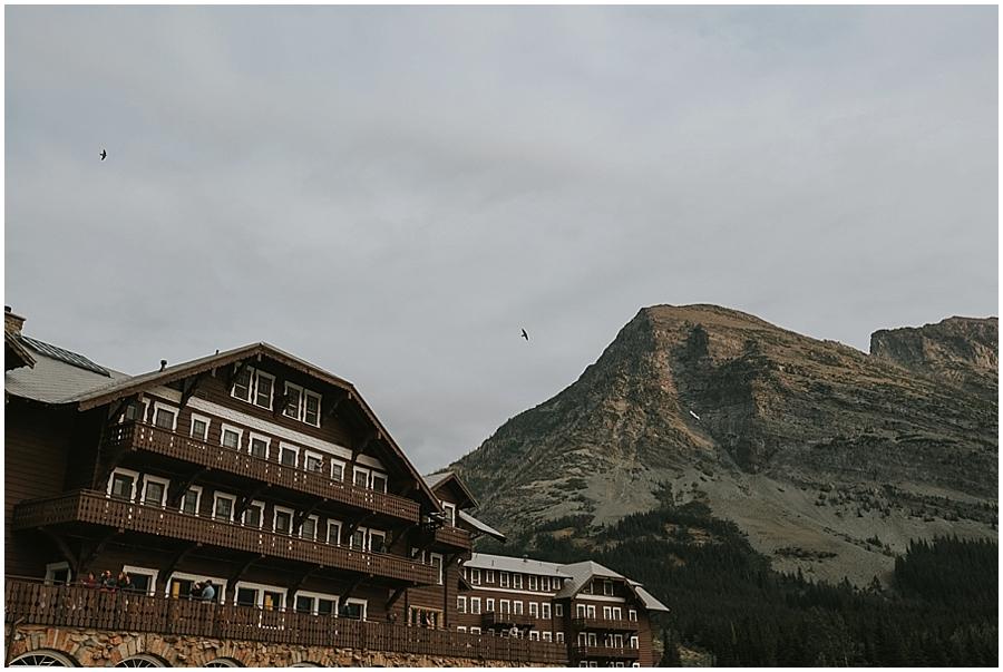 Many Glacier Lodge Wedding