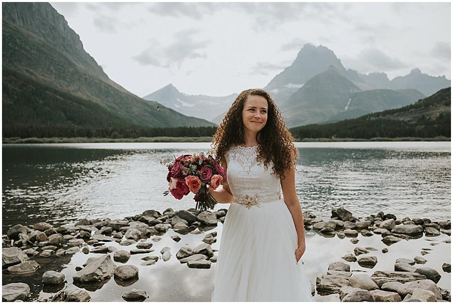 Lake McDonald Montana Wedding