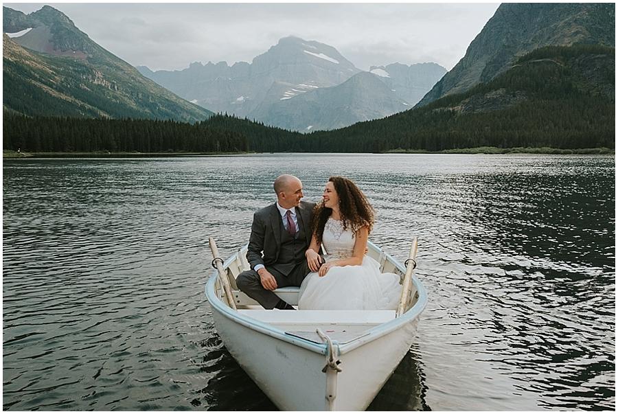 Logan Pass Montana Wedding Photographer