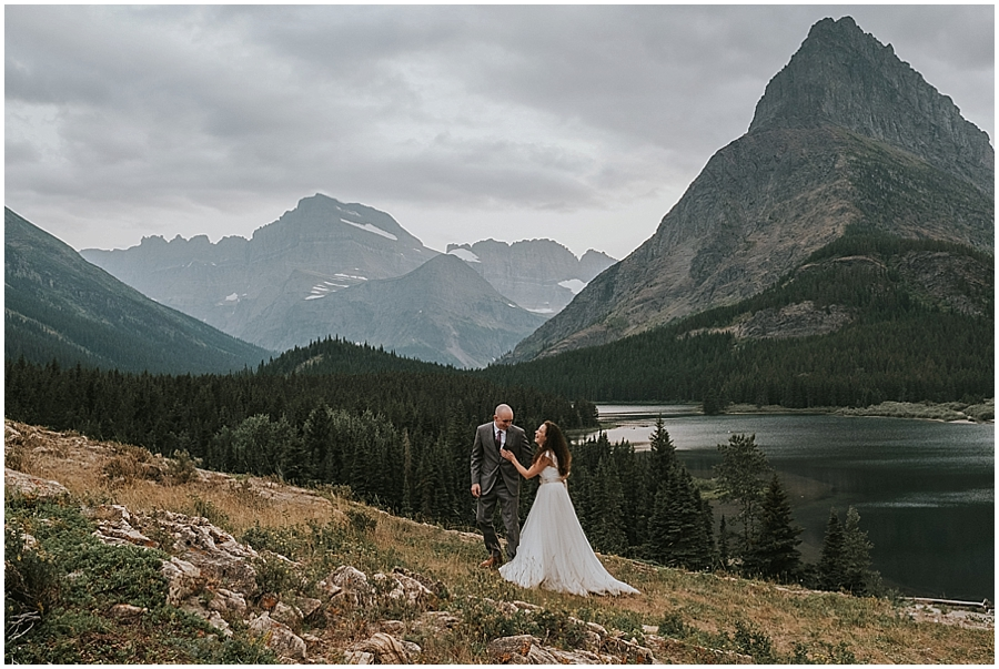 Wedding in the Montana Mountains