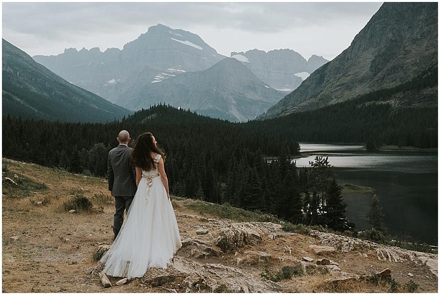 Glacier National Park Outdoor Wedding