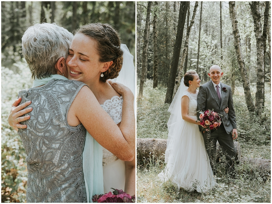Montana outdoor elopement