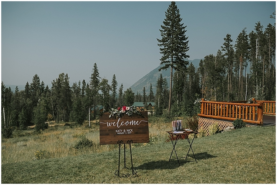 Glacier National Park wedding venue