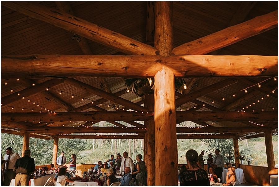 Glacier National Park indoor wedding venue
