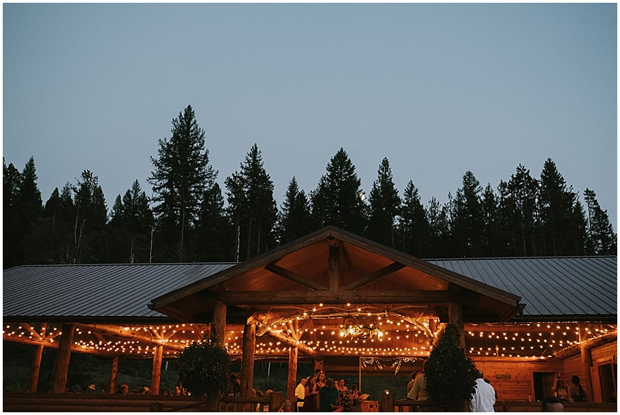 Kalispell indoor wedding venue