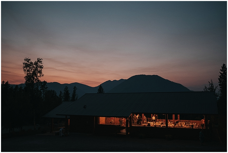 Kalispell Montana indoor wedding venue