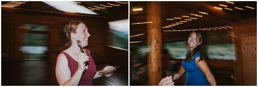 Logan Pass indoor wedding