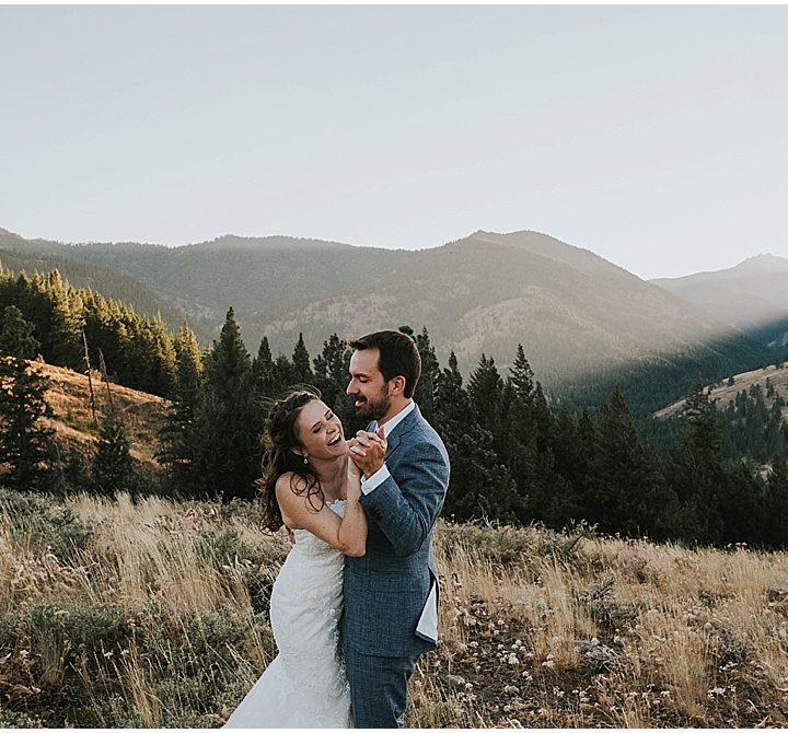 Molly + Nick | Sun Mountain Lodge Wedding, Winthrop, Washington