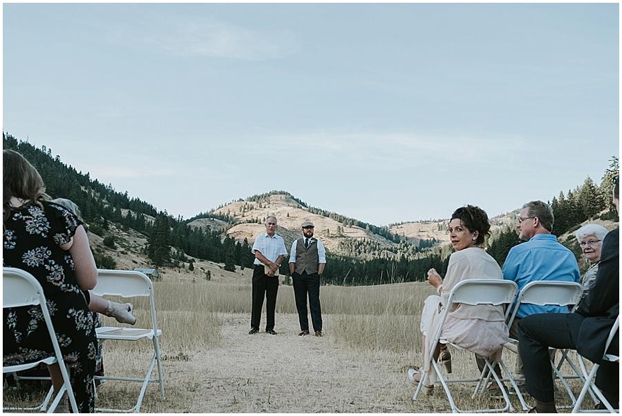Methow valley outdoor wedding