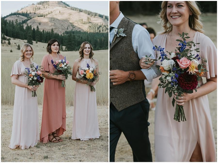 Winthrop outdoor wedding
