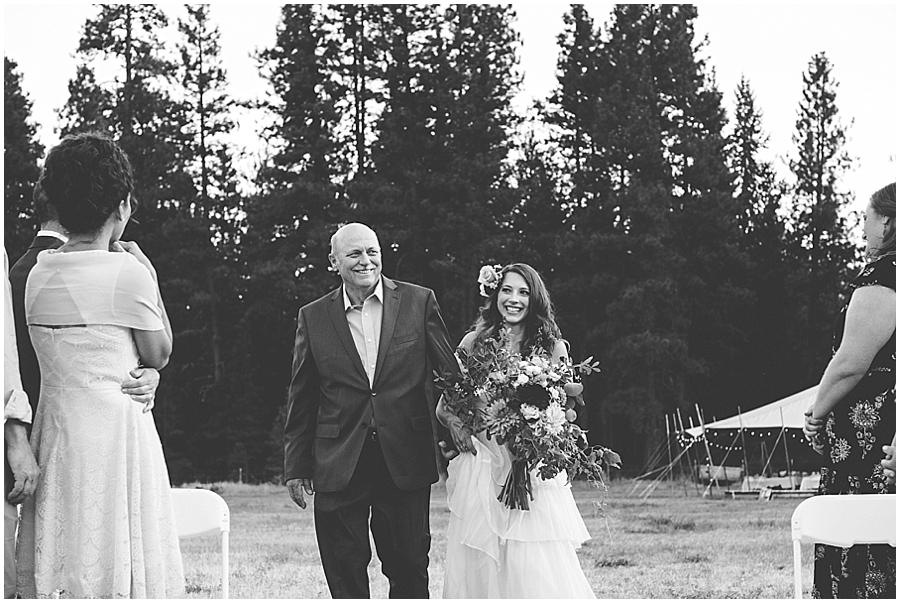 Skalitude retreat outdoor wedding