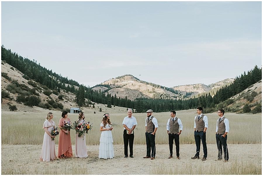 North Cascades National Park Wedding