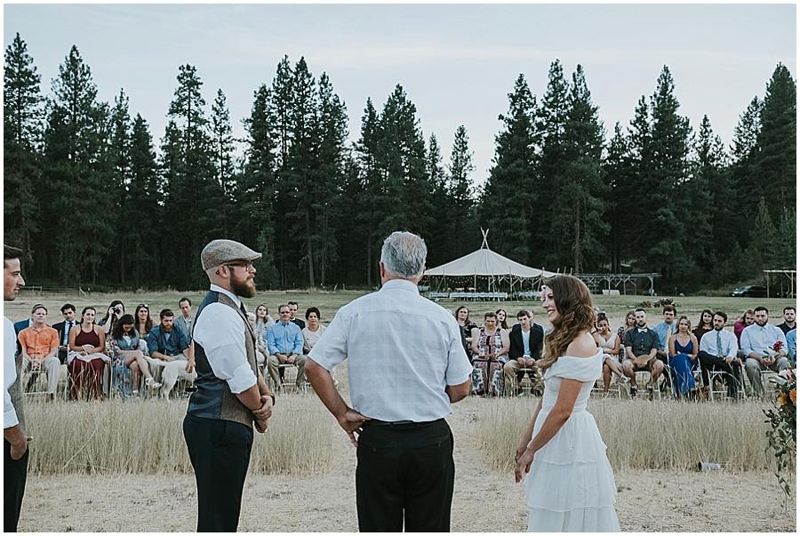North Cascades outdoor wedding venue