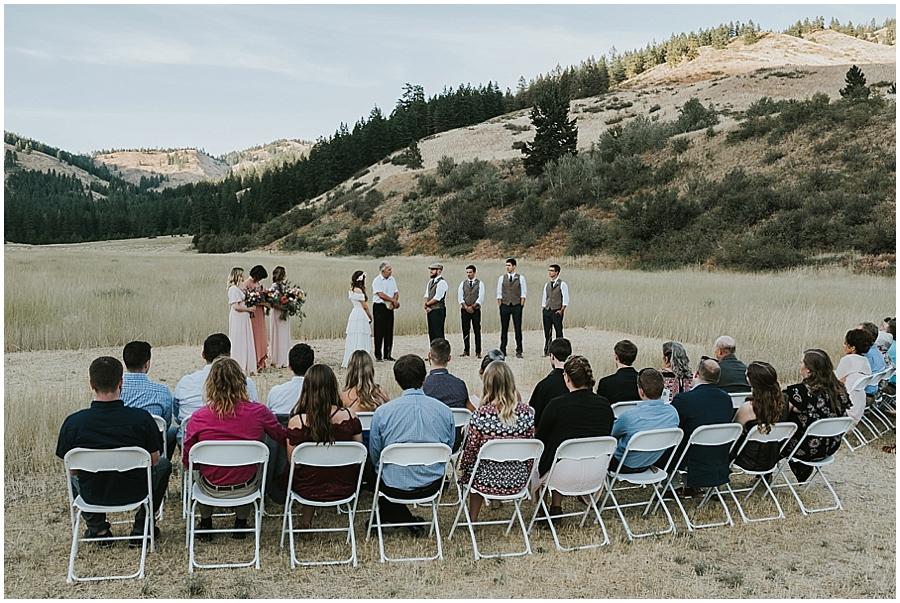 Eastern Washington outdoor wedding venue