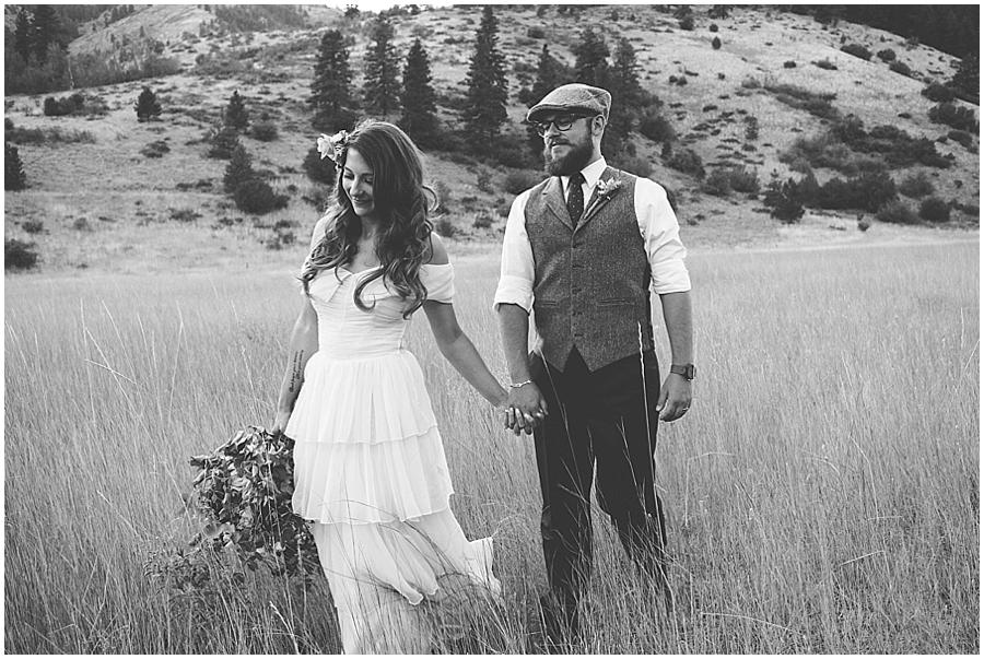 Eastern Washington outdoor wedding