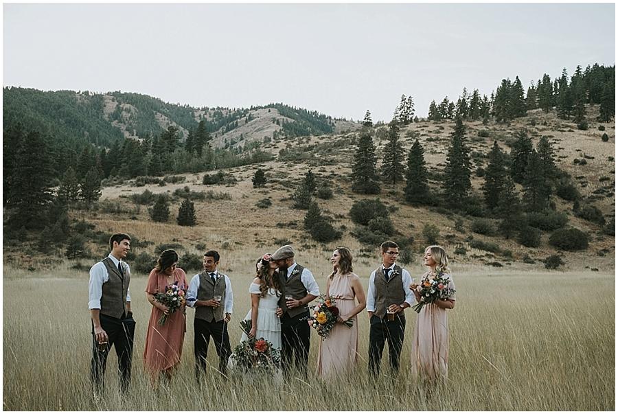 Methow Valley washington outdoor wedding