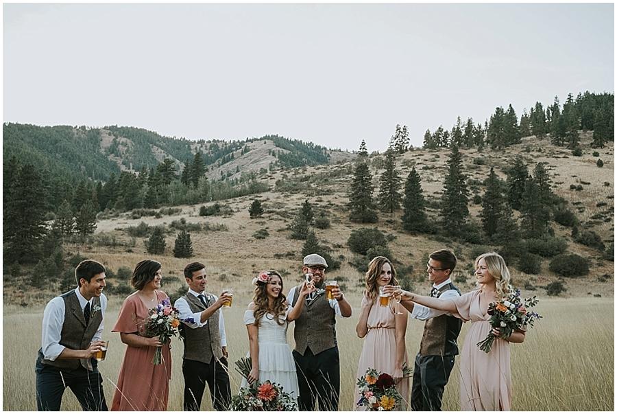 wedding North Cascades National Park