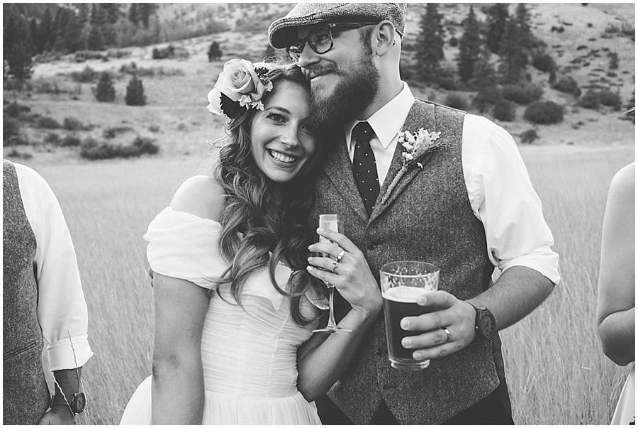 Eastern Washington mountain wedding
