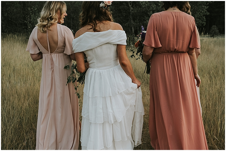 Winthrop, WA outdoor wedding