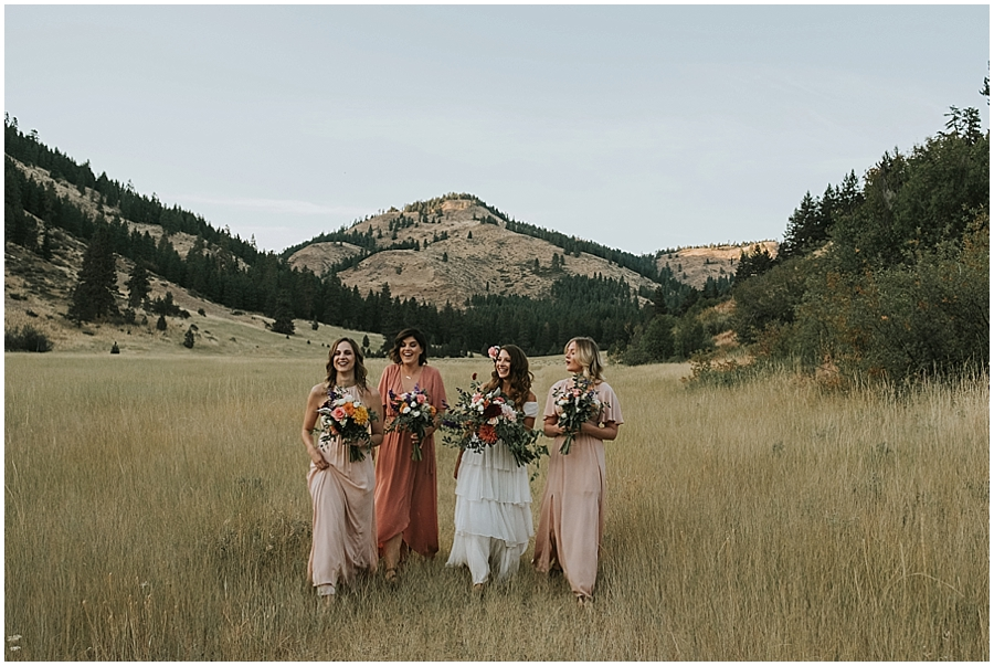 Eastern Washington outdoor elopement