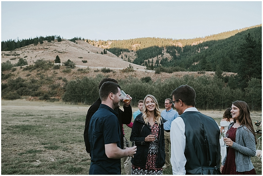 wedding in North Cascades National Park