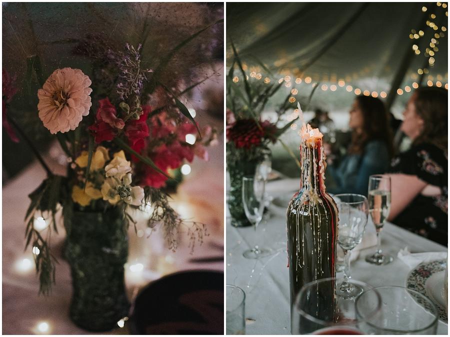 DIY colorful boho wedding