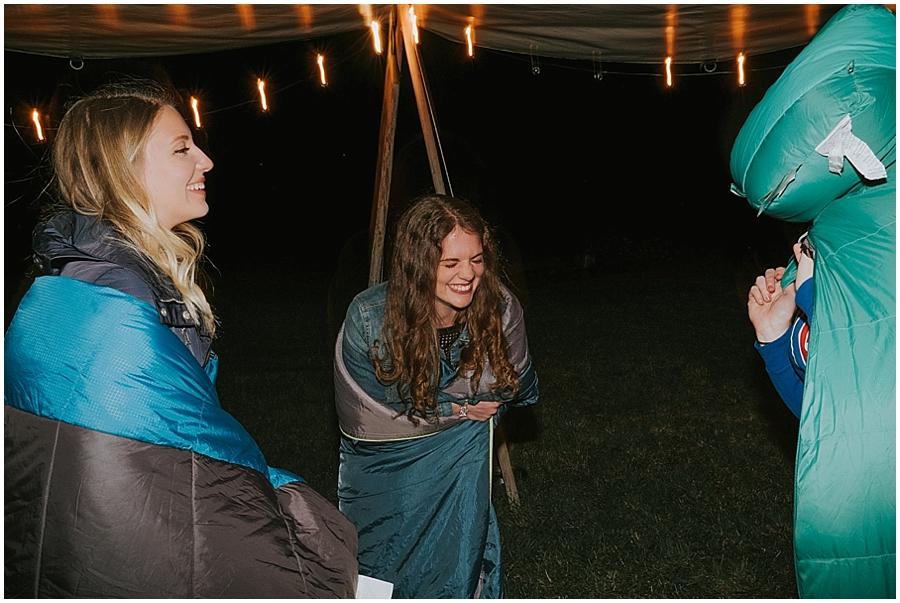 Twisp outdoor wedding