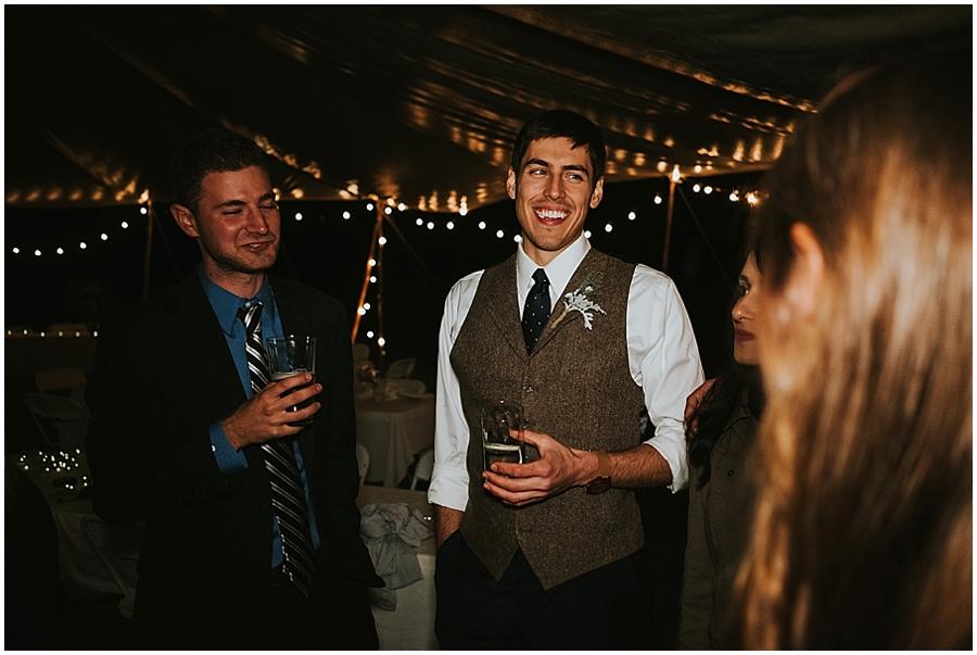 Washington Teepee wedding