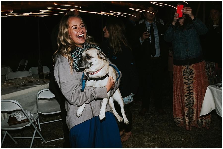 Idaho dog friendly wedding venue