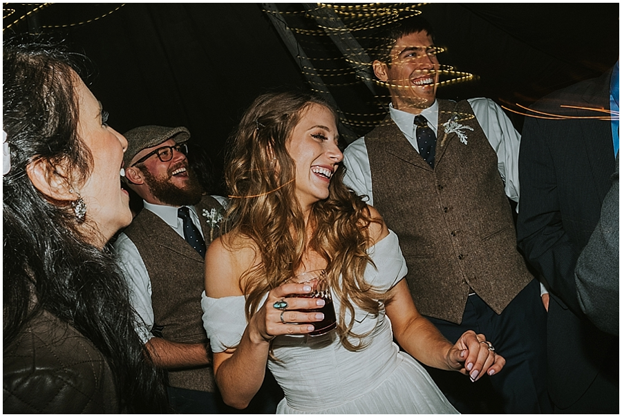 Funky Seattle wedding photographer