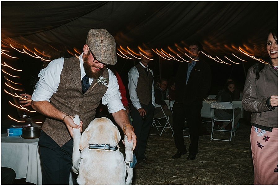 Eastern Washington dog friendly wedding venue