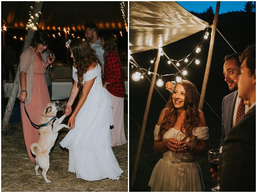 Seattle tipi wedding