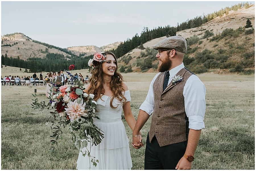 Spokane adventure wedding photographer